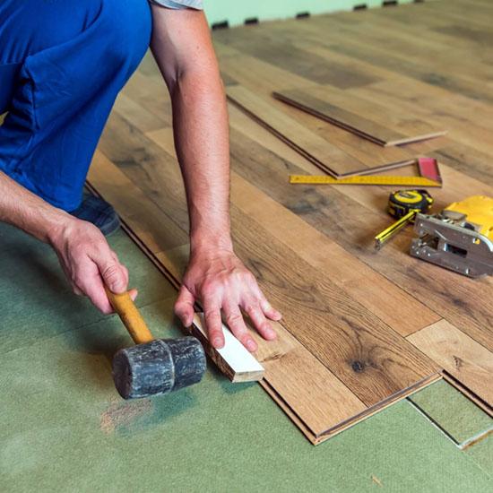 Chicago hardwood floor installation